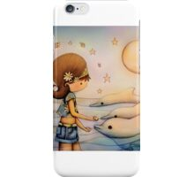 dolphin paradise iPhone Case/Skin