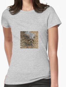 Rock python up close!! Womens Fitted T-Shirt