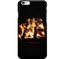 Fire is Burning iPhone Case/Skin