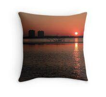 Early Morning Over Estero Bay Throw Pillow