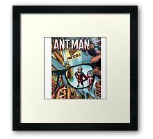 ANT-MAN Comics Book Framed Print