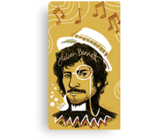 Julian Barratt: Gold Lion Canvas Print