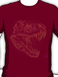 Velociraptor skeleton T-Shirt
