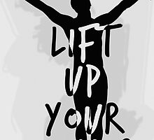 Lift Up Your Hands #2 by byebyesally