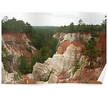 Providence Canyon State Park Poster
