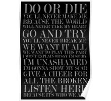 Do or die! Poster