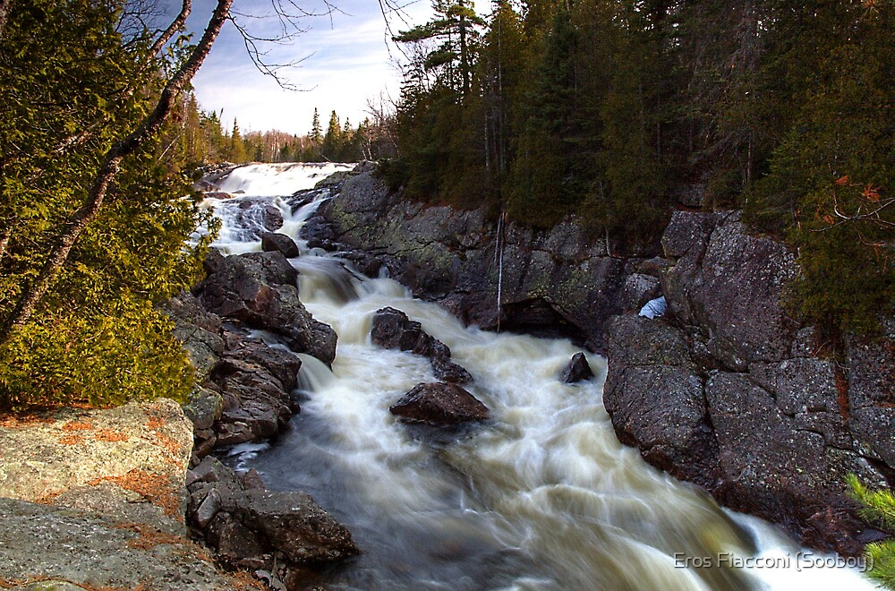 Sand River Falls, Ontario Canada by Eros Fiacconi (Sooboy)