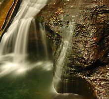 Scenic waterfall by PJS15204