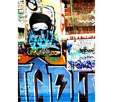 Graffiti Ninja Photographic Print