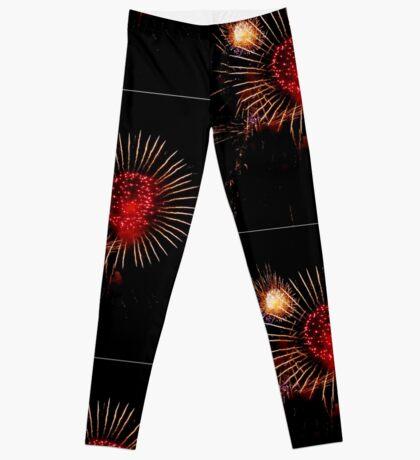 Burst of Fireworks - 1 Leggings