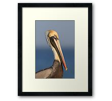 My Best Side Framed Print