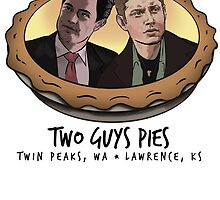 Two Guys Pies (Coop and Dean version) by BrightPig