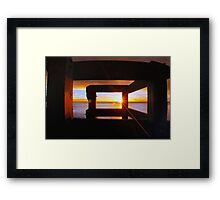 Last Light... Framed Print