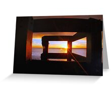 Last Light... Greeting Card