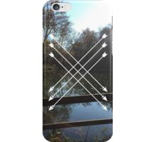 LAKES AND ARROWS iPhone Case/Skin