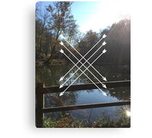 LAKES AND ARROWS Canvas Print