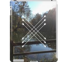 LAKES AND ARROWS iPad Case/Skin