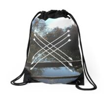 LAKES AND ARROWS Drawstring Bag