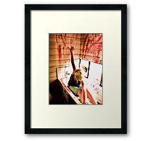 Blood Bath Framed Print