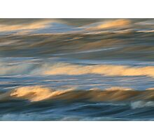 Waves in Motion Photographic Print