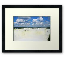 Devils Throat - Iguazu Falls Framed Print