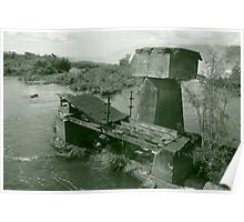 Bridge to Nowhere - Iguazu, Argentina Poster