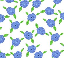 Blue Belles by pizzazzdesign