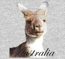 Kangaroo ~ Australia by Julia Harwood