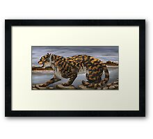 The Last Pogonodon  Framed Print