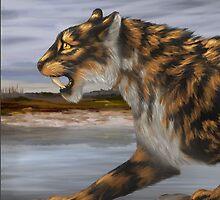 The Last Pogonodon  by fossilfantasies