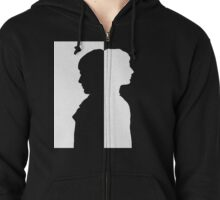 Two sides (W) Zipped Hoodie