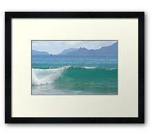 The Water is Nice Framed Print