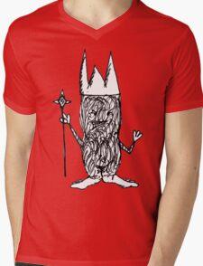 Little King Mens V-Neck T-Shirt