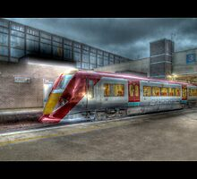 The London Express, Gatwick Airport (Bordered) by Chad Kruger
