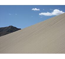 Thin air dune - sand dunes of southern Tibet Photographic Print