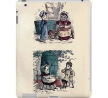 The Little Folks Painting book by George Weatherly and Kate Greenaway 0037 iPad Case/Skin
