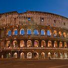 Colosseo by Night by Antonio Zarli
