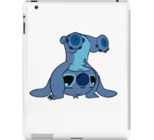 Cute Stitch upside down iPad Case/Skin