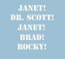 Great Scott! (white) Unisex T-Shirt