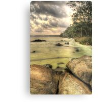 The boulders-Bombah Point Great Lakes NSW Metal Print