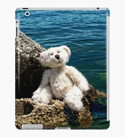 The Philosopher - Teddy Bear Art By William Patrick And Sharon Cummings iPad Case/Skin