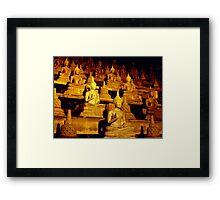 buddha me Framed Print