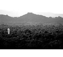lonely buddha Photographic Print