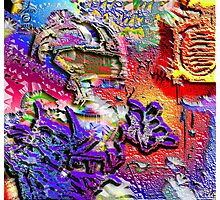 THE GRAFFITI KIDD Photographic Print