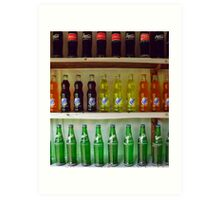 cool drinks Art Print