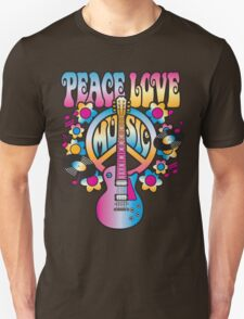 Peace, Love and Music T-Shirt