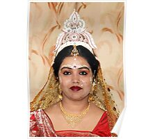 An Indian bride. Poster