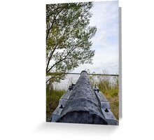 Canon from Fort Fredericia  Greeting Card