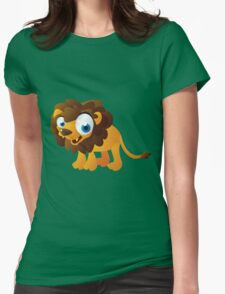 Pretty little lion Womens Fitted T-Shirt