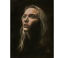 """Kate"" Portrait in Oils Photographic Print"
